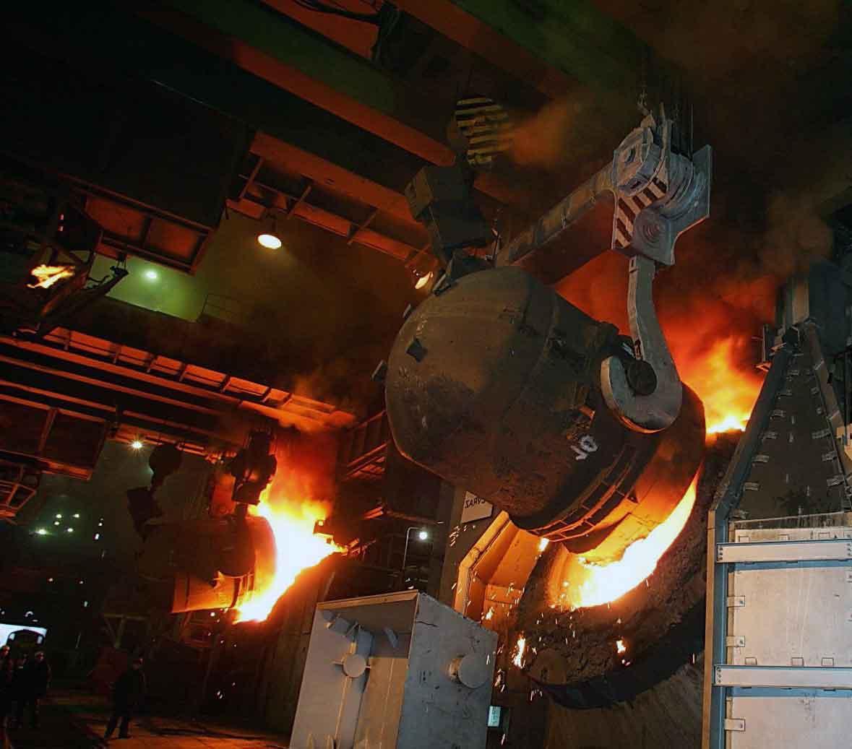 Вынужденная остановка работы индукционных печей на заводах Китая